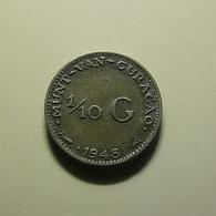 Curaçao 1/10 Gulden 1948 Silver - Curacao