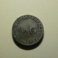 Curaçao 1/10 Gulden 1947 Silver - Curacao