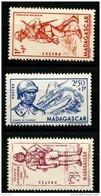 Madagascar (1941) N 226 à 228 * (charniere) - Non Classés