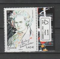FRANCE / 2020 / Y&T N° 5436 ** : Ludwig Van Beethoven X 1 BdF D FSC - Francia