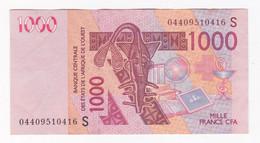 Guinée Bissau 1000 Francs CFA 2003. Banque Centrale Des Etats De L'Afrique De Ouest. - Guinea-Bissau