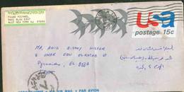 USA Used Aerogramme 1972 Send To Egypt - Lettres & Documents