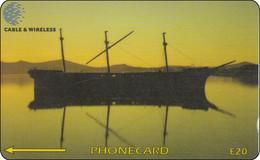 Falkland Phonecard  Schiff Ship - Islas Malvinas