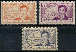 Niger (1939) N 64 à 66 * (charniere) - Non Classés