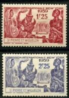 Saint Pierre Et Miquelon (1939) N 189 à 190 * (charniere) - Ongebruikt