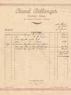 LA FERTE BERNARD BELLANGER IMPRIMERIE FERTOISE ANNEE 1939 - Francia