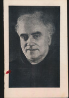 PATER  ANDREAS BOSTEELS   NINOVE  1901    1970    KUNSTSCHILDER     2 AFBEELDINGEN - Overlijden