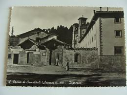 S. EREMO  DI CAMALDOLI  I   (AREZZO)  TOSCANA   NON VIAGGIATA  COME DA FOTO - Arezzo