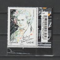 FRANCE / 2020 / Y&T N° 5436 ** : Ludwig Van Beethoven X 1 CdF Inf D Avec Code-barres - Francia