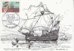 JUMELAGE PTT SAINT MALO-QUEBEC 1984 - Commemorative Postmarks