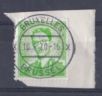 Belgique Timbre N°1068 Oblitéré Bruxelles 10 08 1970 - Belgium