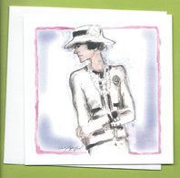 LAGERFELD CARD + ENVELOPPE * - Modern (vanaf 1961)