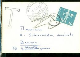 TAXE * PORT BELAST * BRIEFOMSLAG Uit 1965 Van ADELBODEN ZWITSERLAND Naar BERN  (11.847c) - Strafportzegels