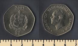 Samoa 1 Tala 2002 - Amerikaans-Samoa