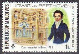 MALDIVES -  BEETHOVEN, ORGANISTE A LA COUR DE BONN - Music