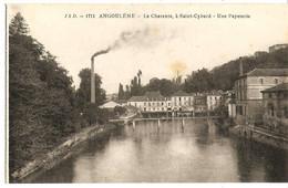[16] Charente > Angouleme - La Charente à St Cybard- Une Papeterie - Angouleme