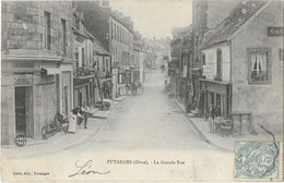 PUTANGES : La Grande Rue - Lizot édit - Putanges