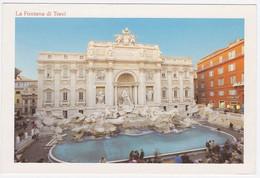Carte Postale Moderne Italie - Rome, Fontaine De Trevi - Fontana Di Trevi