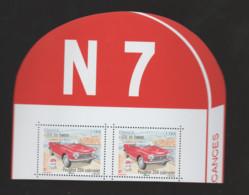 """FRANCE / 2020 / Y&T N° 5428 ? ** : """"Fête Du Timbre : 204 Cabriolet 1.16 €"""" (TP Isolé Du Feuillet De 6) X 2 Haut Feuillet - Francia"""