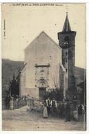 CPA  ST -JEAN De PIED - GAUTHIER  L'Eglise  N° 2 - Other Municipalities