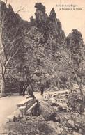 SCALA DE SANTA REGINA ( NIOLU  .. CALACUCCIA ) - LOT De 3 Cartes Anciennes ( La Fontaine A La Poule , Animée) - Sonstige Gemeinden