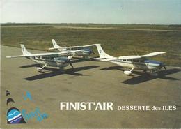 CPSM Aérodrome De Brest-Quipavas Finist'air - Ile-de-Batz