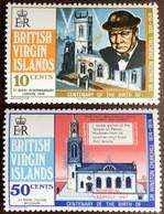 British Virgin Islands 1974 Churchill MNH - British Virgin Islands