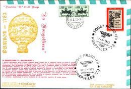 22715) ITALIA-FDC PRAPHILEX 73-PRATO  17-3-1973- - 6. 1946-.. Republic
