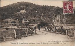 Cavalaire Sur Mer : Le Pont, Ligne De Chemin De Fer Du Littoral - Cavalaire-sur-Mer