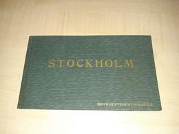Book - Set Of Postcards, Postcard, Stockholm - Sweden, Bromselfverfotografier, 10 Postcards - 1911? - Suède