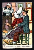 Illustrateur GRIFF - Humour- Vous êtes Le Propriétaire.. Oui ! ... Mais Pas De Ma Femme ( Défaut En Bas) - Griff