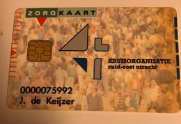 Pays-Bas Chip Kruisorganisatie Zuid-Oost Utrecht Health Card - Ausstellungskarten