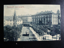 Z27 - Temesvar - Jeno Herceg-ter- 1919 - Tramway - Romania