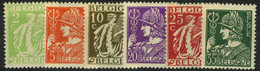 België 335/40 * - Ceres - Mercurius - Unused Stamps