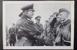 GOERING MEETS PILOTS WITH KESSELRING - Guerra 1939-45