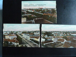 Z27 - Panoramique 3 Volets Détachés - Josefvaros - Er Erzsebetvarasi Tajkepe - 1919 - Romania