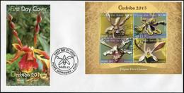 Papua New Guinea 2013. Orchids Of Papua New Guinea 2 (Mint) First Day Cover - Papua-Neuguinea