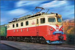"Korea. 2012. Locomotive ""Paektusan"" (Mint) PostCard - Korea (Nord)"