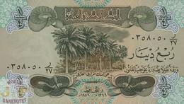 IRAQ 1/4 DINAR 1979 PICK 67a UNC - Irak
