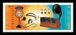 Canada 2020 Mih. 3818/19 History Of Radio. Broadcasting In Canada MNH ** - Nuevos