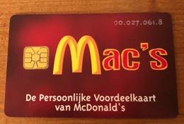 Pays-Bas Mac's - Ausstellungskarten