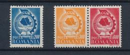 ROMANIA 1947,1947  March   CGM ,Mi#1037-1039,MNH - 1918-1948 Ferdinand, Charles II & Michael