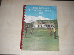 New Zealand, Pictorial Diary, 1952, Blank - Other