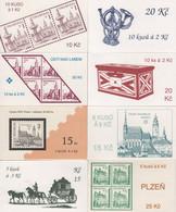 Republique Tcheque - Carnets - C-14 à 17 - Villes Et Monuments - Cote 25€ - Ungebraucht
