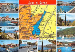 Italy Lago Di Garda Multiviews Desenzano Torbole Brenzone Garda Torri Del Benaco - Other