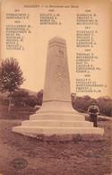 Sologny La Croix Blanche Canton Mâcon Monument Aux Morts éd Combier - Otros Municipios