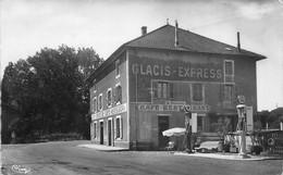 Sologny La Croix Blanche Canton Mâcon Pompe à Essence Azur Desmarais Café Daubard éd Combier - Otros Municipios