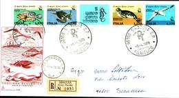22728) ITALIA FDC Salvaguardia Del Mare - 3 Aprile 1978 - 6. 1946-.. Republic