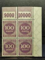 Deutsche Reich Mi-Nr. 268 A W OR 1'11'1 **MNH Postfrisch - Ungebraucht