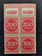Deutsche Reich Mi-Nr. 269  W OR 1'11'1 **MNH Postfrisch - Ungebraucht